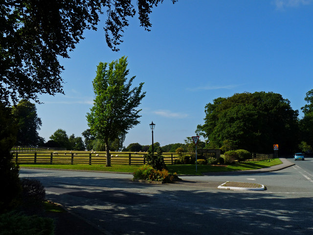 Entrance to Judges Country House Hotel