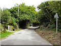 SW7729 : Carlidnack Road by David Dixon