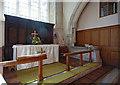 TQ4459 : St Peter & St Paul, Cudham, Kent - Sanctuary by John Salmon