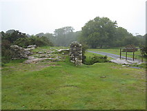 SX1882 : Ancient bridge at Bowithick ford. by Rod Allday