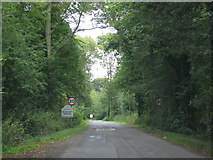 SO8534 : Road to Bushley Green by Sarah Charlesworth