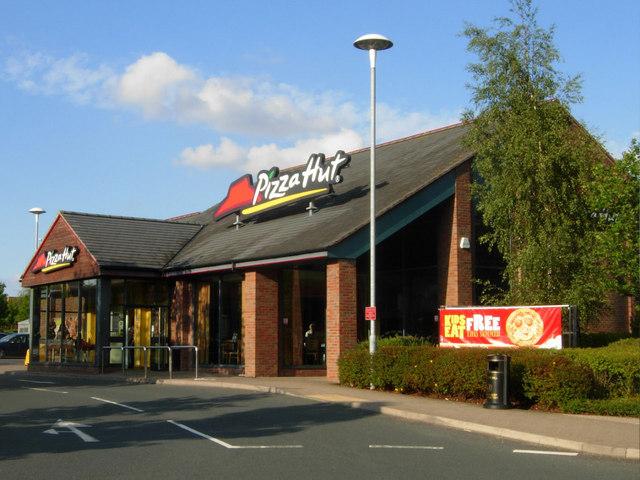Pizza Hut Colton Stephen Mckay Geograph Britain And