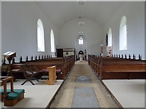 TM4369 : Inside St Peter, Westleton: aisle by Basher Eyre