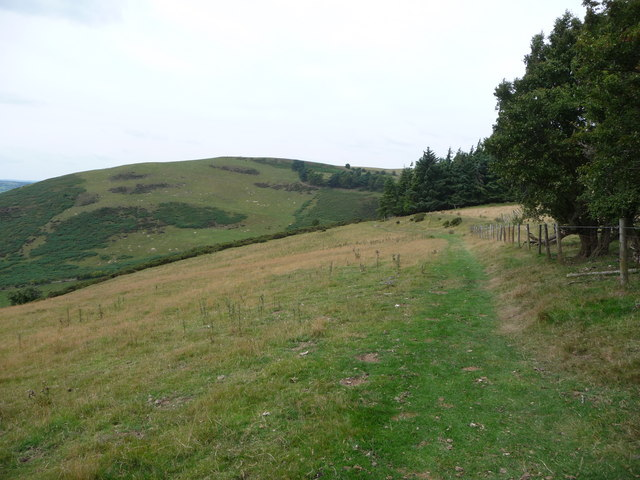 Cwm-sanaham Hill on Offa's Dyke Path