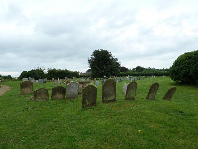 St Mary Magdalene , Friston: churchyard