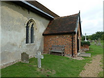TM4160 : St Mary Magdalene , Friston: church porch by Basher Eyre