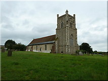 TM4160 : St Mary Magdalene , Friston: August 2010 by Basher Eyre