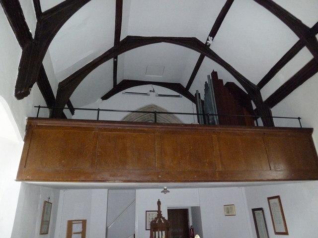 St Mary Magdalene , Friston: balcony