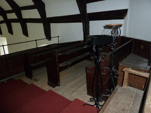 St Mary Magdalene, Friston: pews in the balcony