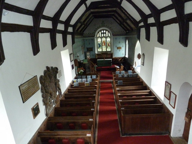 St Mary Magdalene, Friston: view from the balcony