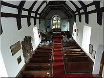 TM4160 : St Mary Magdalene, Friston: view from the balcony by Basher Eyre
