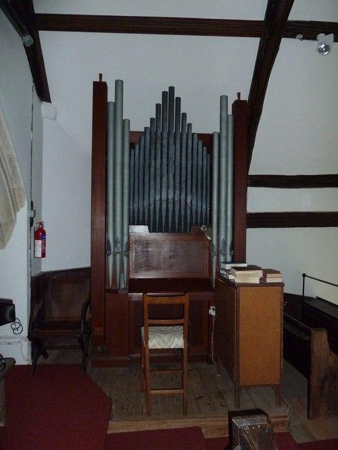 St Mary Magdalene, Friston: organ in the balcony