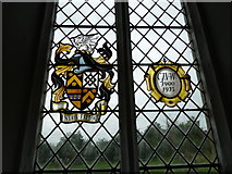 TM4160 : St Mary Magdalene, Friston: window memorial by Basher Eyre