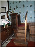 TM4160 : St Mary Magdalene, Friston: pulpit by Basher Eyre