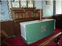 TM4160 : St Mary Magdalene , Friston: altar by Basher Eyre