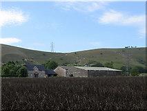 TQ2411 : Perching Manor Farm by Simon Carey