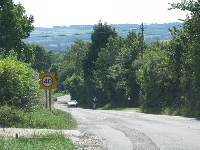 Road through Stoke Villace