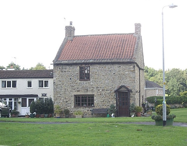House on village green, Cleasby