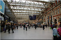 TQ3179 : The station concourse, Waterloo by Bill Boaden