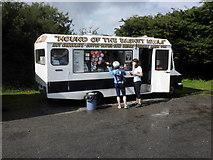 SX7379 : Elementary catering establishment, Dartmoor by Roger Cornfoot