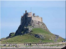 NU1341 : Lindisfarne Castle by Oliver Dixon
