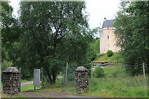 NM6947 : View towards Kinlochaline Castle from the Road leading to the A884 by Michael Jagger