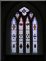 TM4367 : Window, Holy Trinity Church, Middleton by Adrian Cable