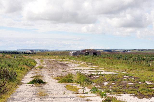 Remains of Skitten Airfield