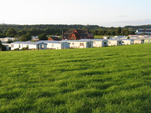 Dutch House caravan site at Monkton