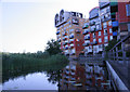 TQ4079 : Tower blocks and moat, Greenwich by Chris Denny