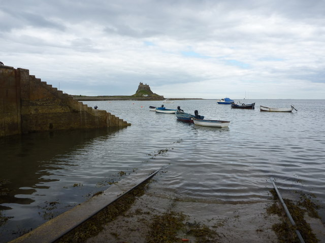 Slip-Sliding Away At Holy Island (Lindisfarne) Northumberland