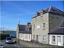 HU4841 : Anderson Homes, Lerwick by Colin Smith