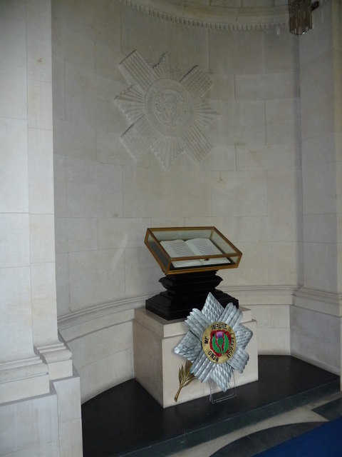 Guards Chapel: Scots Guards, book of remembrance