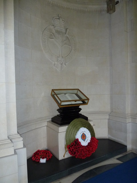 Guards Chapel: Welsh Guards, book of remembrance