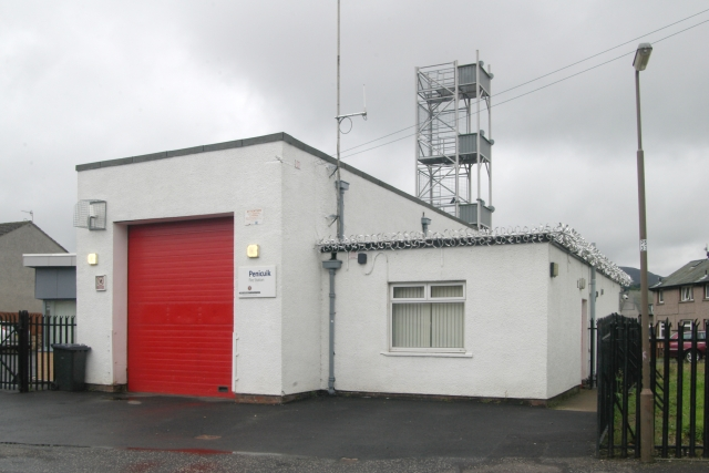 Penicuik fire station