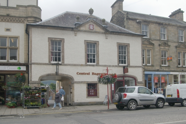 Peebles old fire station