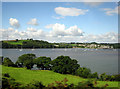 SX4462 : View across the Tamar south of Bere Ferrers by Peter Kazmierczak
