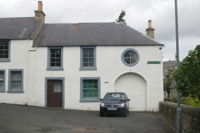 Hawick old fire station
