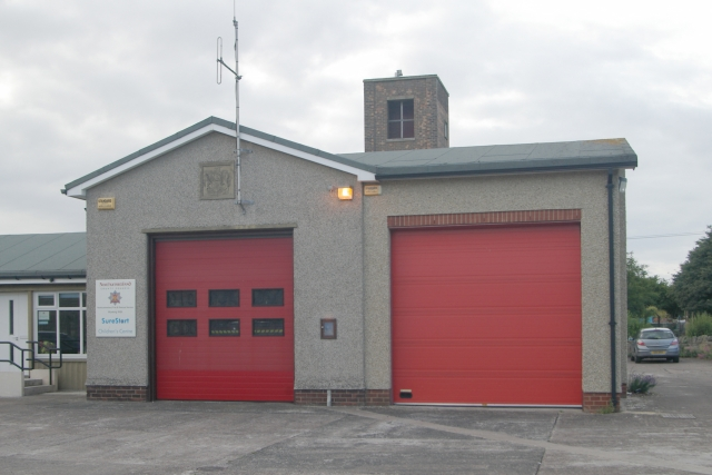 Seahouses fire station