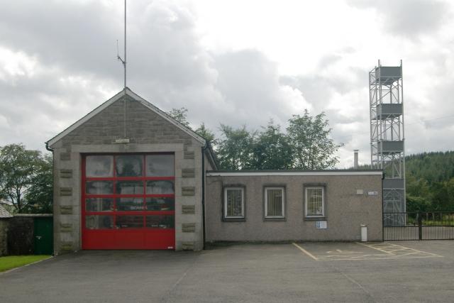 Newcastleton fire station