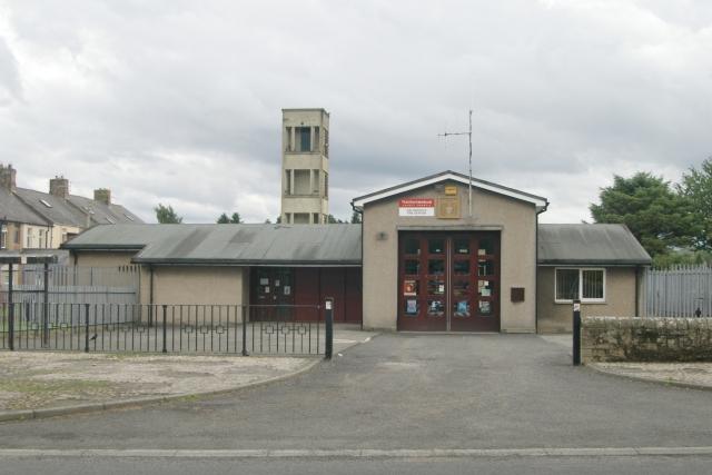 Haltwhistle fire station