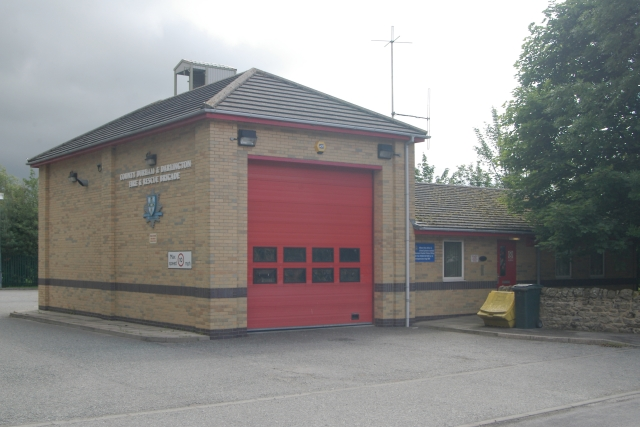 Middleton-in-Teesdale fire station
