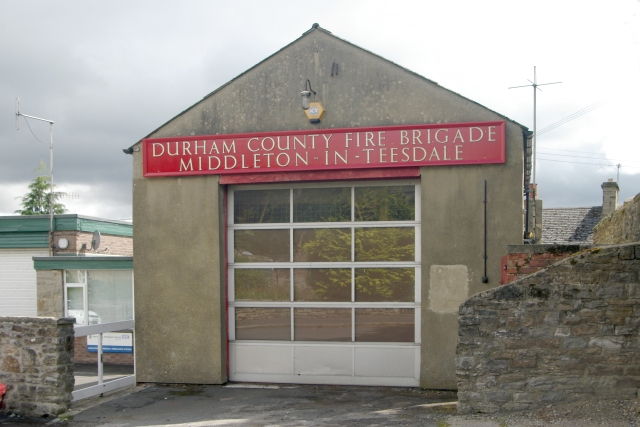 Middleton-in-Teesdale old fire station