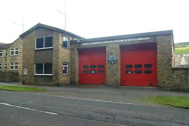 Stanhope fire station