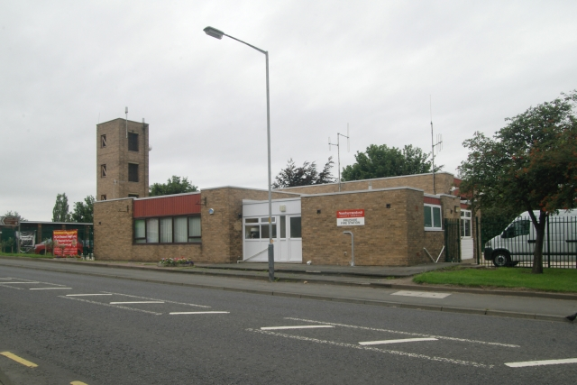 Prudhoe fire station