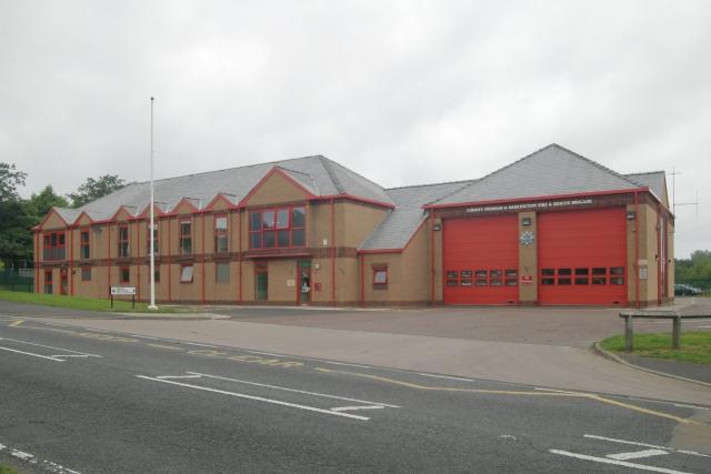 Consett fire station