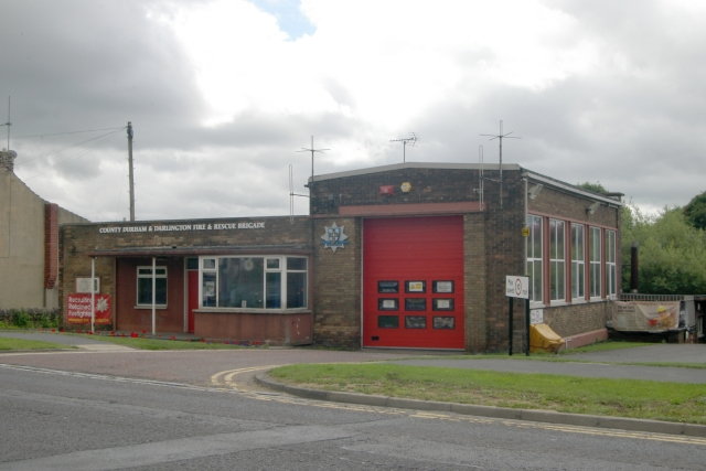 Crook fire station