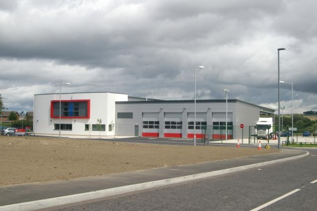 Bishop Auckland fire station