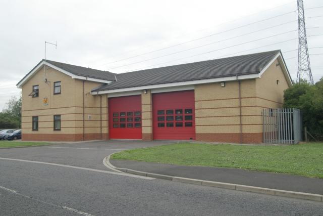 Cramlington fire station
