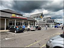 ST0207 : Cullompton Services, M5 by David Dixon